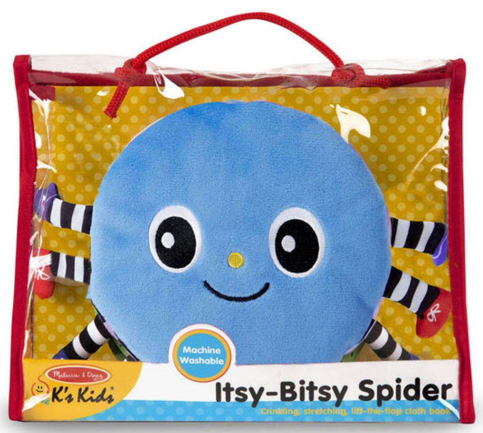 Melissa & Doug The Itsy-Bitsy Spider K's Kids Cloth Book