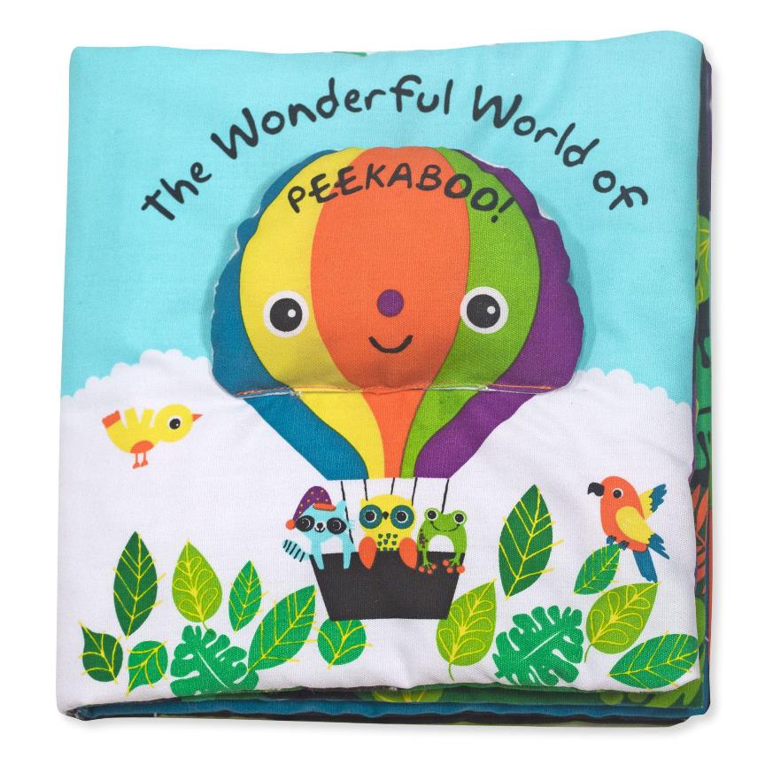 Melissa & Doug K's Kids Books- Wonderful World of Peekaboo