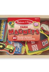 Melissa & Doug Wooden Farm Magnets
