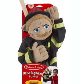 Melissa & Doug Firefighter - Puppet (New Packaging)