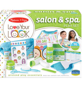 Melissa & Doug LOVE YOUR LOOK - Salon & Spa Play Set