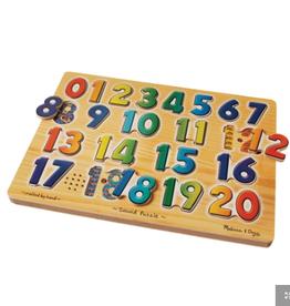 Melissa & Doug Sound Puzzle- Numbers