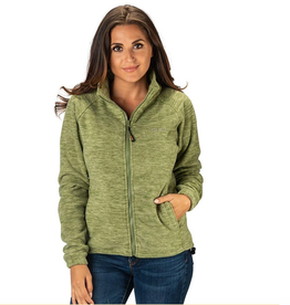 TrailCrest Women's Chambliss Heather Semi Fitted Fleece Jacket