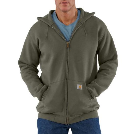 Carhartt Midweight Zip Front Hooded Sweatshirt