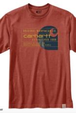 Carhartt 104610 - Heavyweight Workwear Graphic Short Sleeve T-Shirt