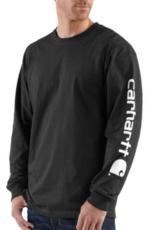 Carhartt K231 - Loose Fit Long Sleeve Logo T-Shirt