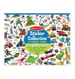 Melissa & Doug Sticker Collection-Blue