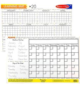 Melissa & Doug Calendar Write-A-Mat
