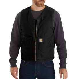 Carhartt Washed Duck Vest - Sherpa Lined
