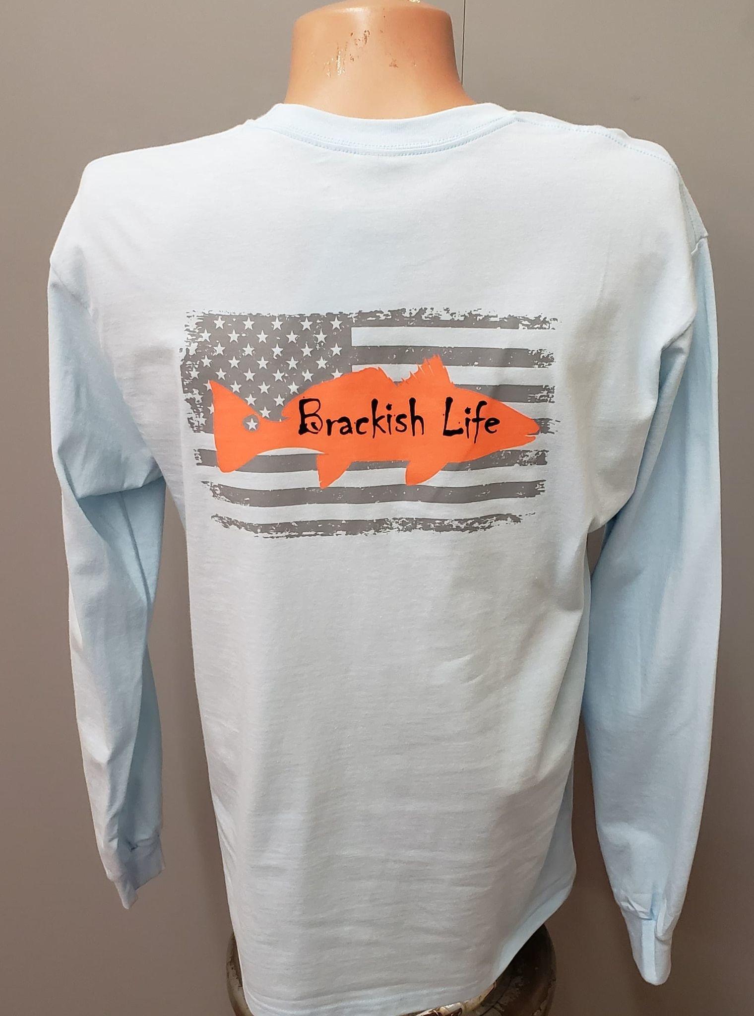 Brackish Life Gildan Hammer Super Soft L/S T-Shirt