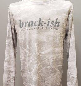 Brackish Life Mossy Oak Bonefish L/S UV, Flag/Fish