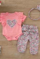 Riolio Loveheart T-shirt and Floral Pants