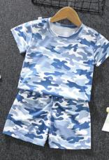 Riolio Toddler Boy 2pcs Camo Print T-shirt & Shorts