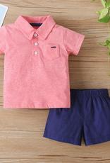 Riolio 2-piece Polo & Shorts for Baby Boy