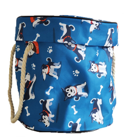PatPat Children's toy storage bucket bag - dogs