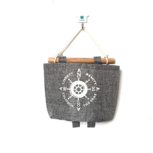 PatPat Cotton Linen Storage Bags - nautical