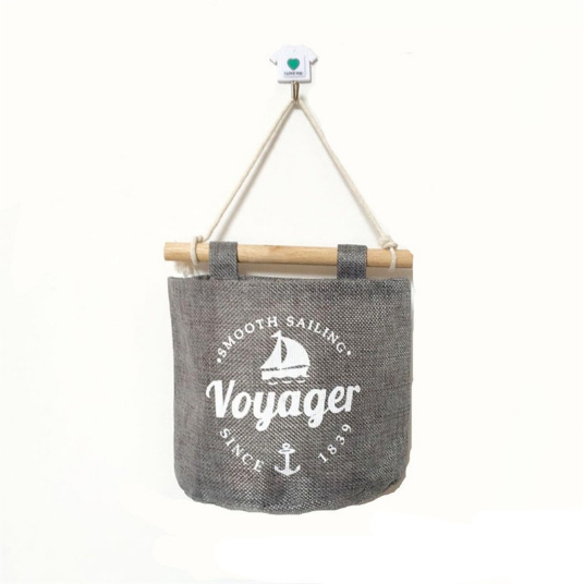 PatPat Cotton Linen Storage Bags - sailboat
