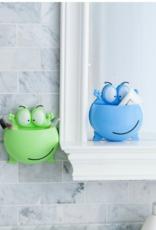 PatPat Cute Cartoon Frog Plastic Bathroom Organizer