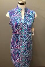 LuLu B. Sleeveless Key Hole Dress