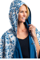 Rain Capers Navy w/Garfield Print