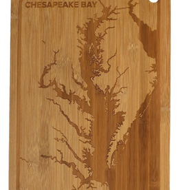 Chesapeake Bay / Bamboo Cutting Board