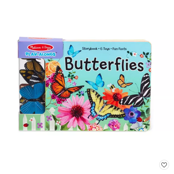 Melissa & Doug Play Along Butterflies