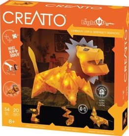 Creatto: Luminous Lion & Serengeti Sidekicks