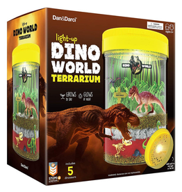 Tundra Light-Up Dino World Terraruim Kit