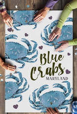 1000 Piece Puzzle Maryland Crab Pattern