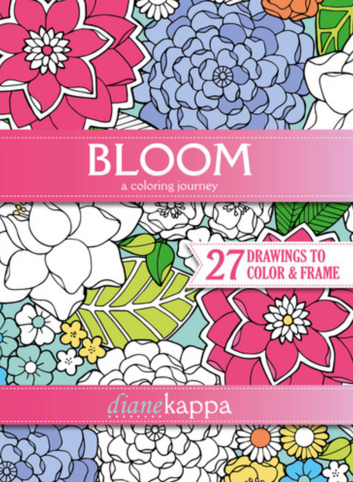 Tundra Bloom: A Coloring Journey