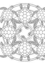 Tundra Animal Life: Nature Mandala Coloring Book