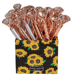 Simply Southern Pen Box - Sunflower