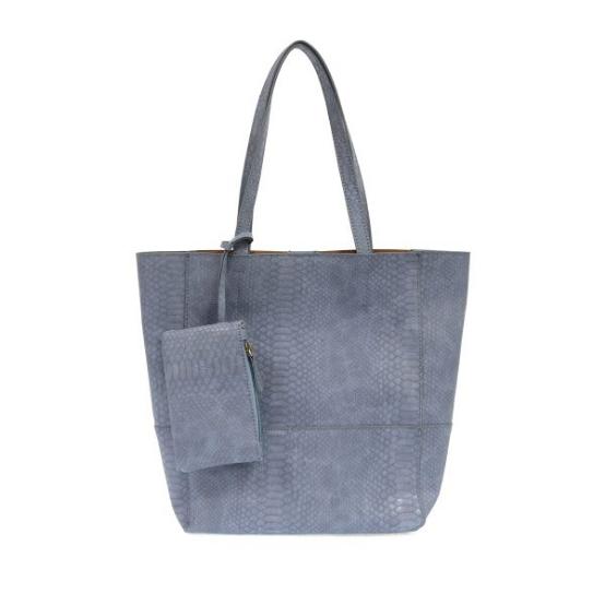 Joy Susan Avery Python Tote Handbag