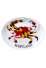 "Galleyware Maryland Crab 16"" Melamine Platter"