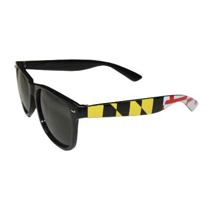 Maryland Flag Stretch Sides (Black) / Shades
