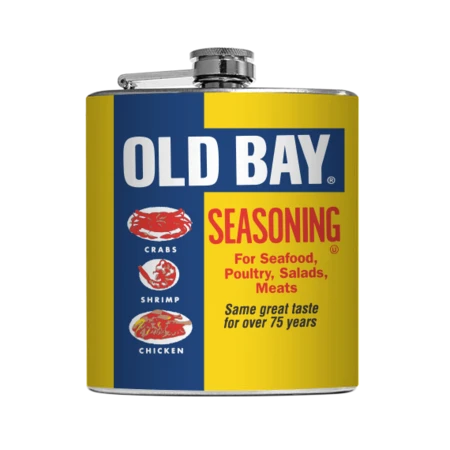 Full Old Bay Can / Flask