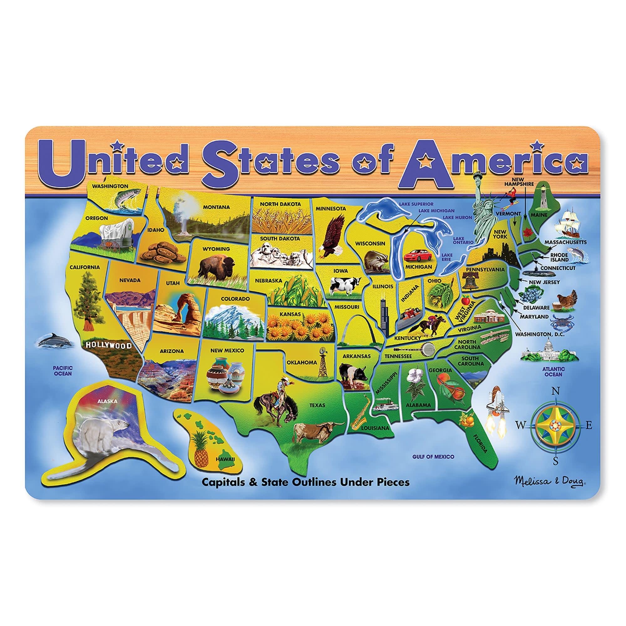Melissa & Doug USA Map