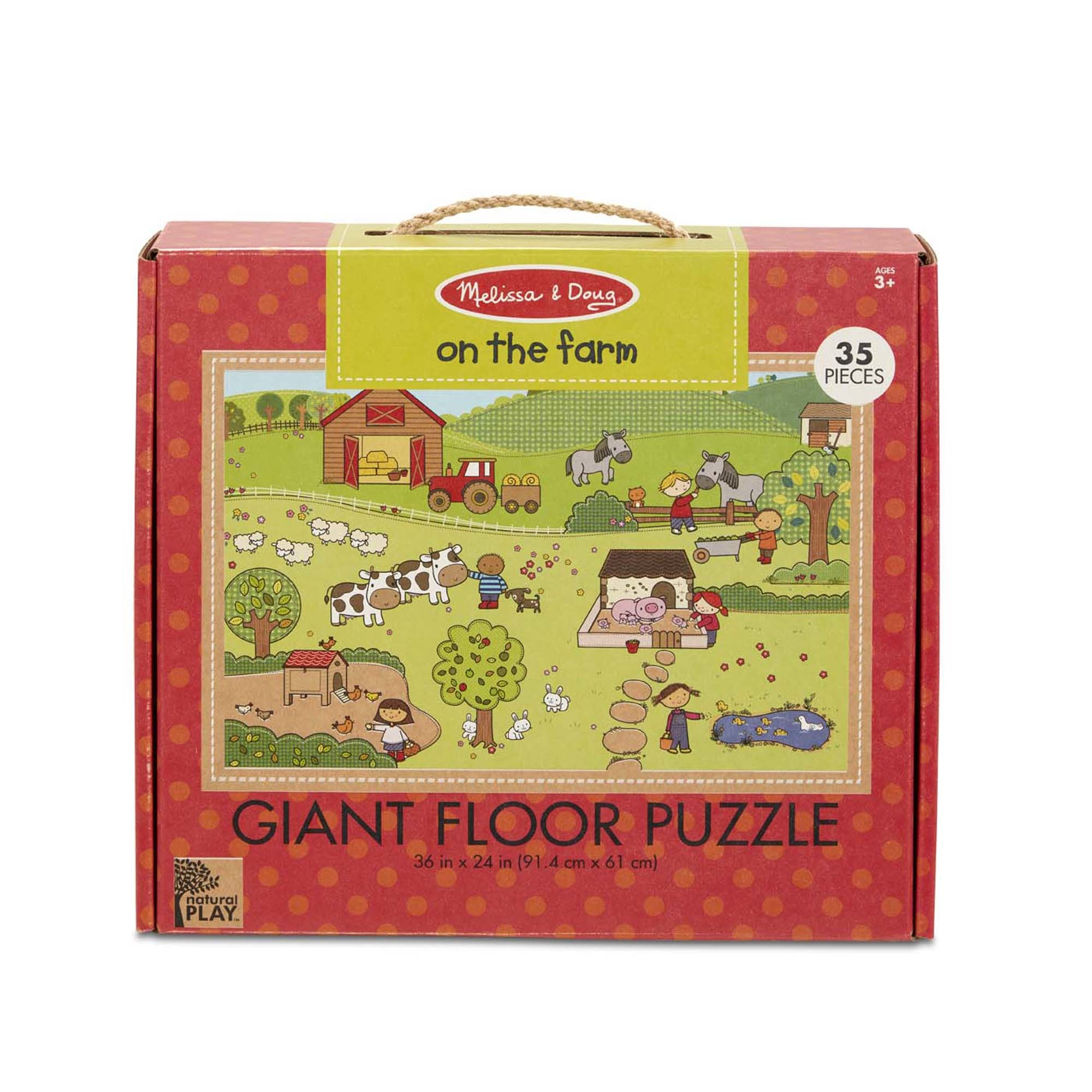 Melissa & Doug NP Giant Floor Puzzle - On The Farm