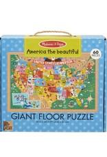 Melissa & Doug NP Giant Floor Puzzle - America the Beautiful
