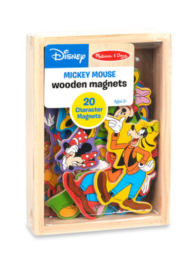 Melissa & Doug Mickey Mouse Wooden Magnets