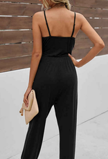 ePretty Ruched cut out jersey knit jumpsuit