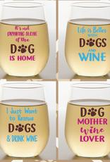 Wine-Oh! Shatterproof Wine Glass- WINEDOG