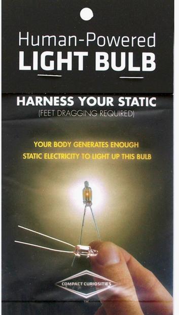 COPERNICUS TOYS HUMAN POWERED LIGHT