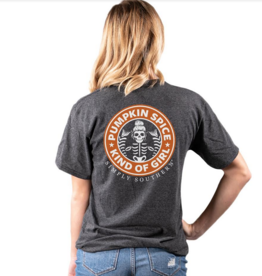 Simply Southern SS Pumpkin Spice Kind Of Girl T-Shirt