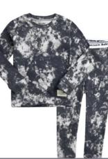 Salon de bebe Prism Charcoal Long Sleeve PJ Set