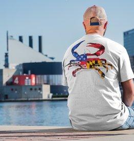 Maryland My Maryland MD Ameriland Crab T-Shirt