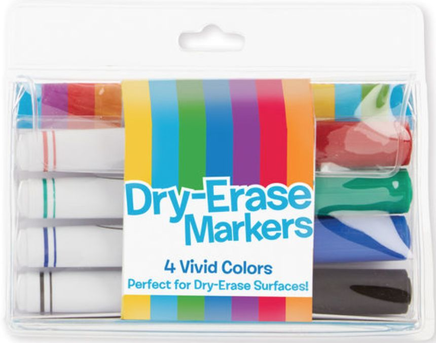 Melissa & Doug Dry Erase Marker Set (4 pc)