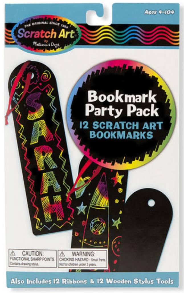 Melissa & Doug BOOKMARK PARTY PACK - SCRATCH ART
