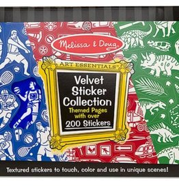 Melissa & Doug Velvet Sticker Collection - Blue