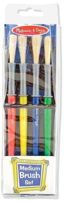 Melissa & Doug Medium Paint Brushes (set of 4)